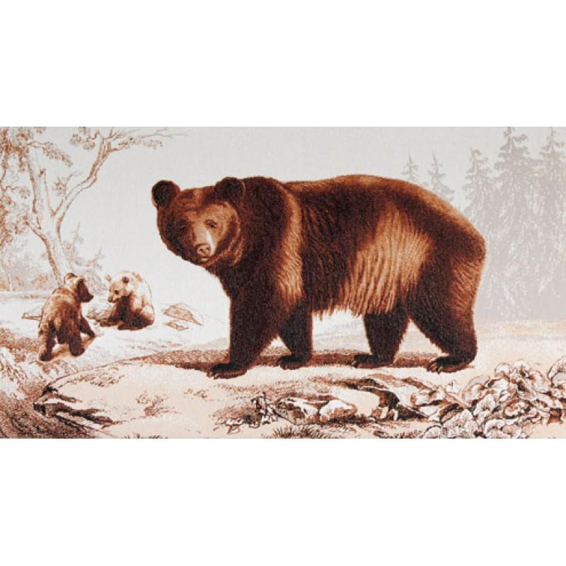 Гобелен медведь оригинал