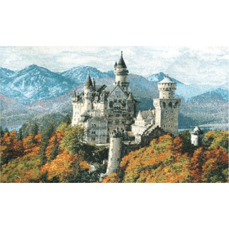 Гобелен замок нойвайнштайн